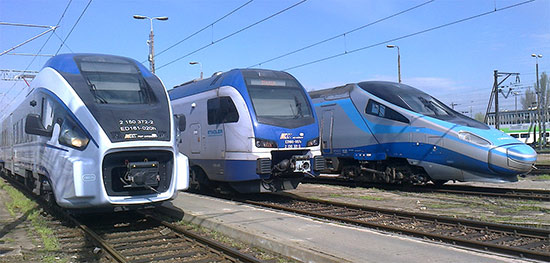 Spare parts for rail vehicles